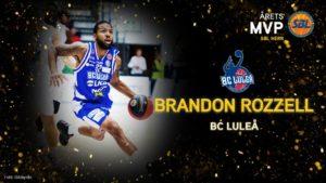 Brandon Rozzell – Årets MVP i SBL Herr